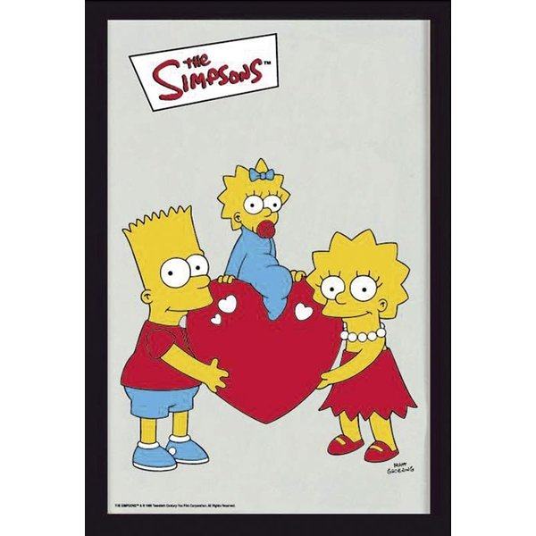 The Simpsons mirror Bart