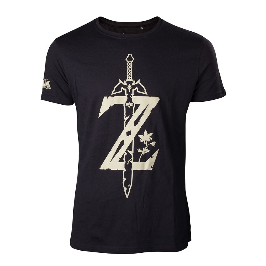 the legend of zelda t shirt breath of the wild logo
