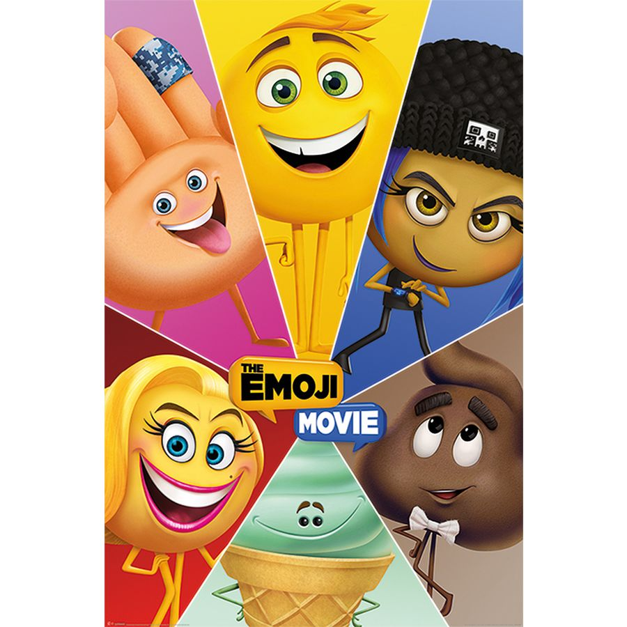 The Emoji Movie Characters Posters Buy Now In The Shop Close Up Gmbh