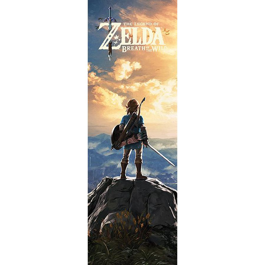 The Legend of Zelda Poster  sc 1 st  Close Up & The Legend of Zelda Poster Breath of The Wild - Door Posters buy now ...