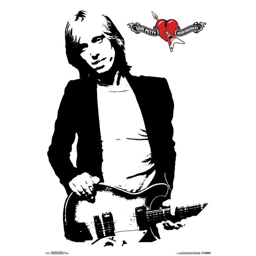 Image result for Tom Petty Clipart