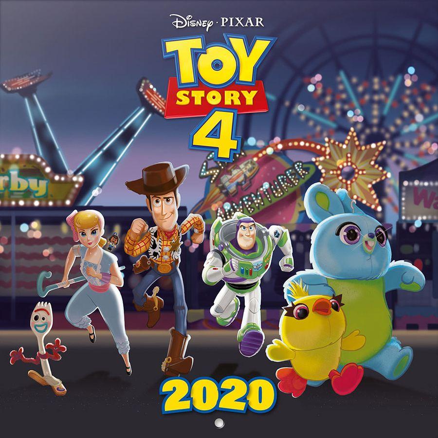 Calendrier One Piece 2020.Toy Story 4 Calendar 2020