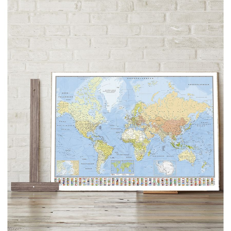 World map poster huge 140x100cm giant posters buy now in the shop world map poster gumiabroncs Gallery