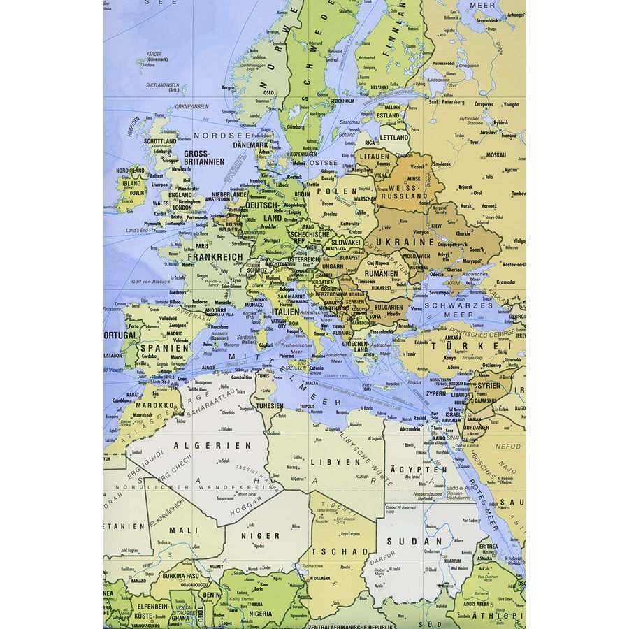 World map poster huge 140x100cm giant posters buy now in the shop world map poster gumiabroncs Choice Image